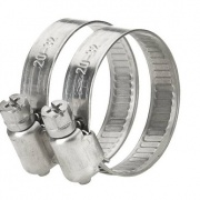 Stainless steel hose clamp 3/4″-1″