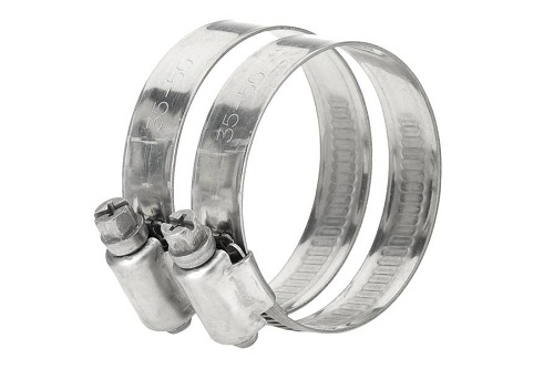 Stainless steel hose clamp 1 1/4″-1 1/2″