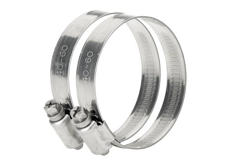 Stainless steel hose clamp 1 1/2″-2″