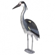 Pond figures Heron