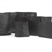 Plant basket textile rectangular