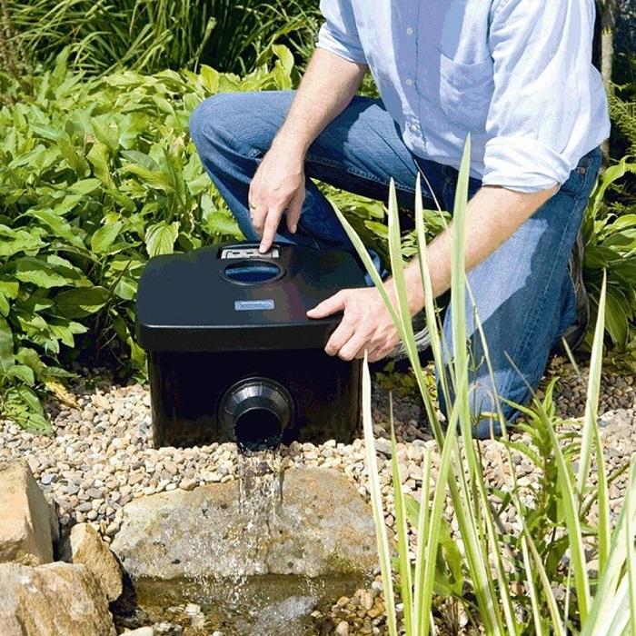 Cách làm lọc nước hồ cá Koi đơn giản